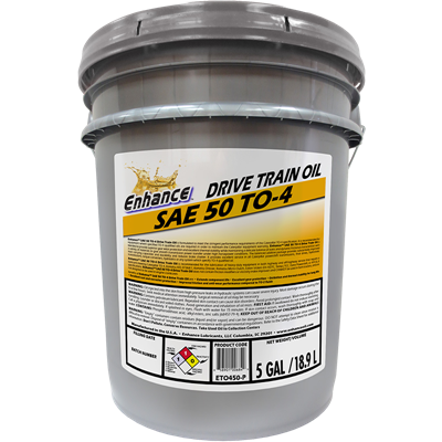 Enhance TO-4 Drive Train SAE 50 Pail